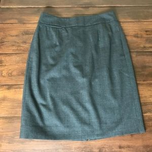 J Crew Factory Original Fit wool pencil skirt